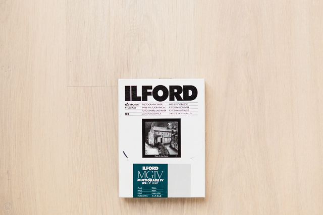 Ilford photo paper multigrade iv rc de luxe film photography