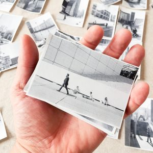 film photography sequencing small print in hand