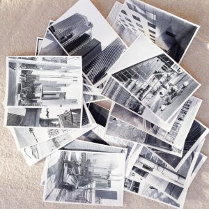 film photography sequencing small prints stacks shuffled