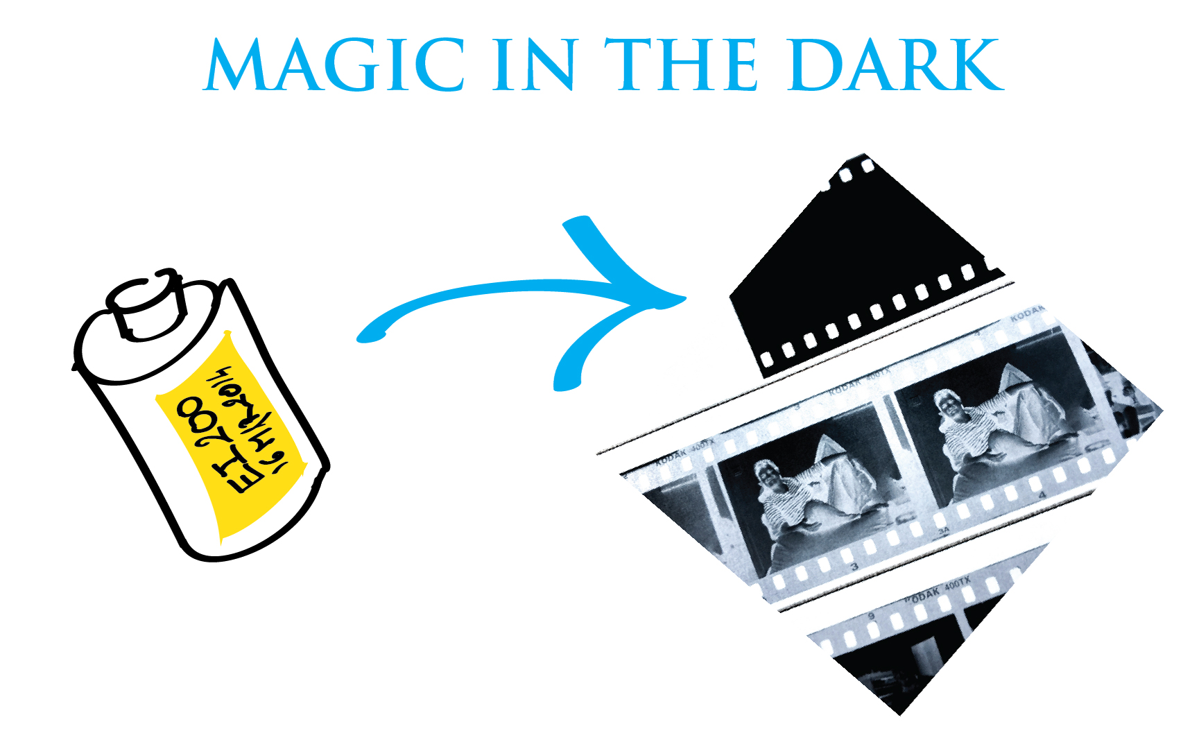 Illustration: magic in the dark